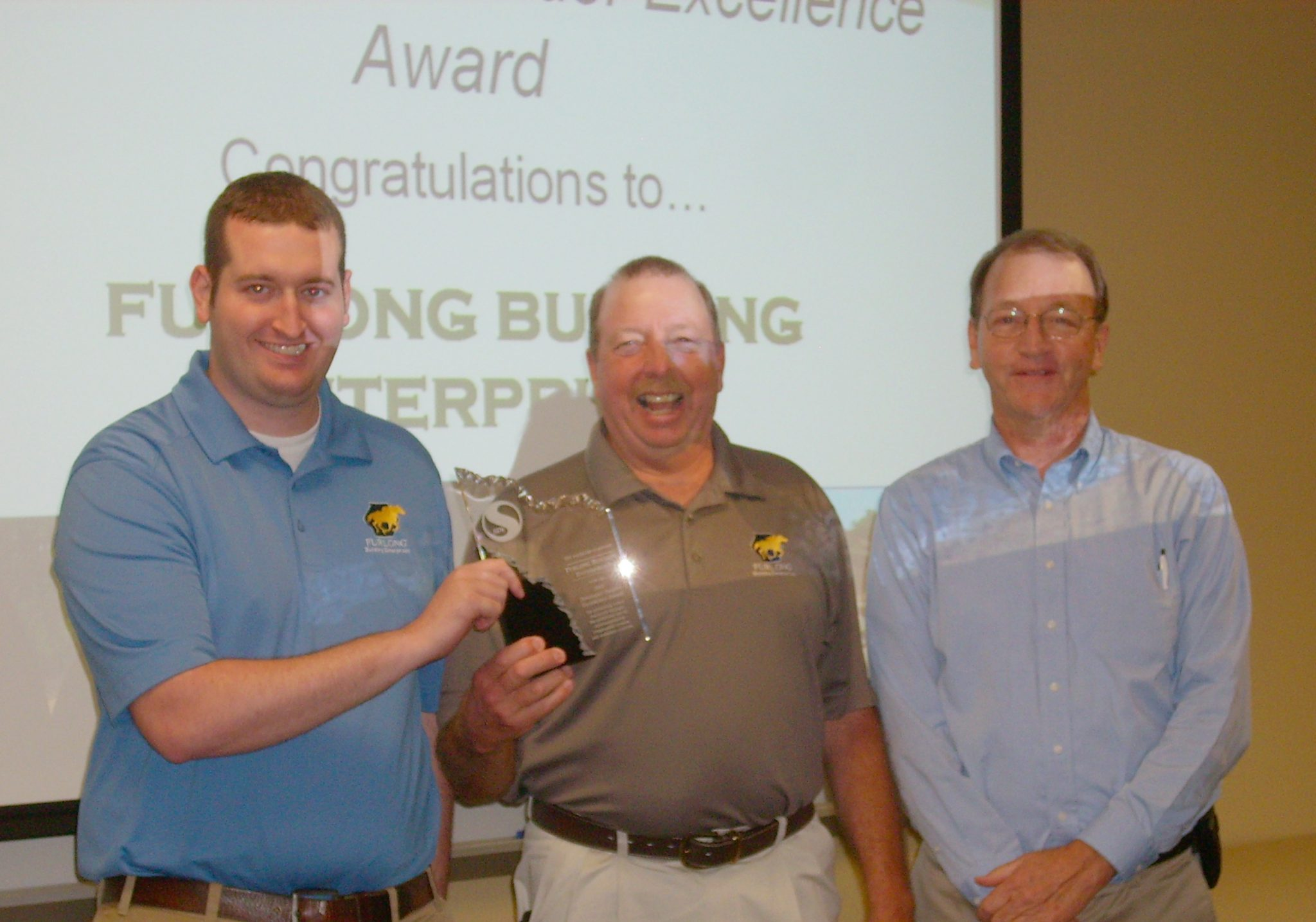 Furlong Wins Sd1 Builder Excellence Award Furlong Building